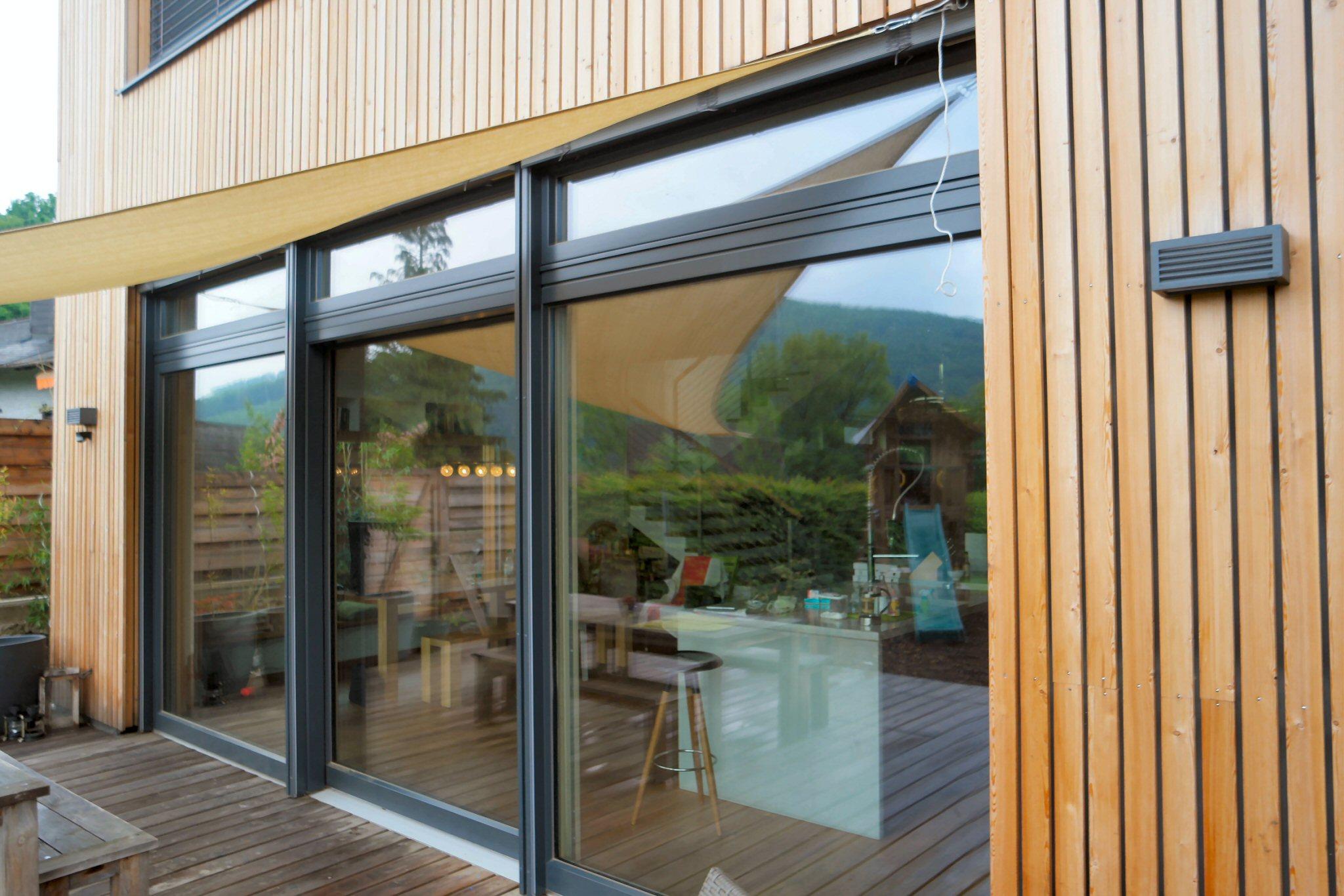 Aluminium windows and doors abacus windows and conservatories - Fenetre baie window ...