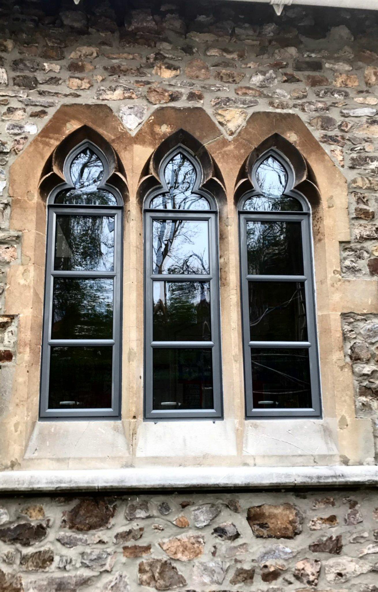 St. Johnu0027s School Wellington - New aluminium windows & Aluminium Windows and Doors - Abacus Windows and Conservatories