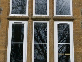 East Anstey Primary School - new uPVC windows