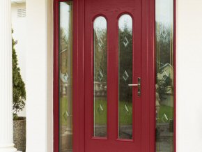 New uPVC Composite Door