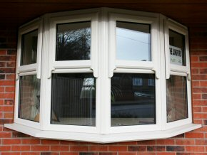 House with new uPVC windows