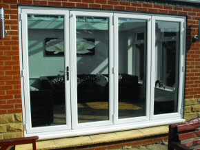 New uPVC Bi-Fold Doors